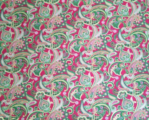 Pink Paisley | Boho Coats