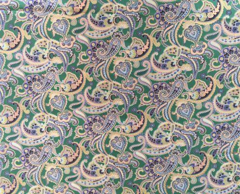Green Paisley | Boho Coats