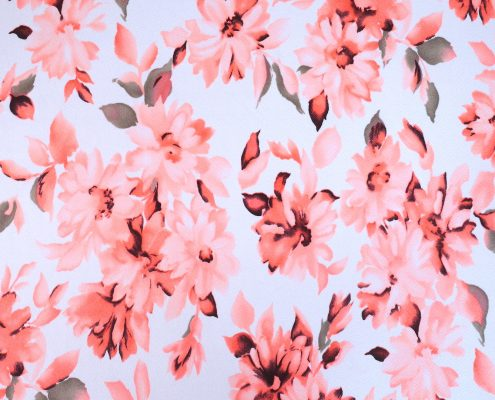 Peach Flowers | Bohocoats