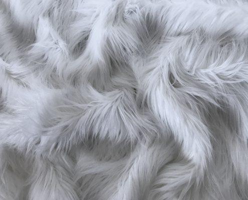White Lama Faux Fur