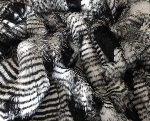 Falcon Black'n'White Faux Fur