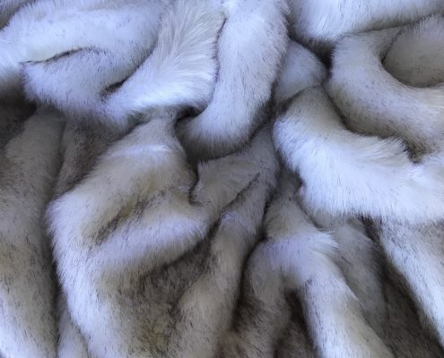 Grey Frost Faux Fur