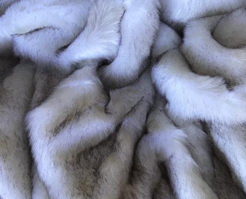 Grey Frost Faux Fur