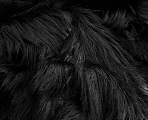 Black Raven Faux Fur