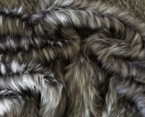 Classic Grey Faux Fur