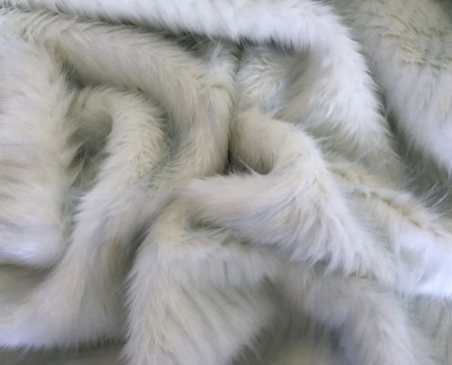 Pastel Blue Stripes Fur
