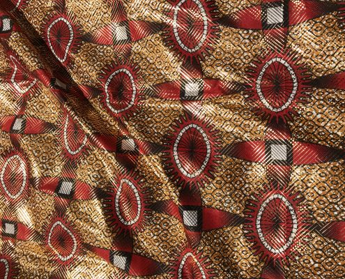 African Tribal Red
