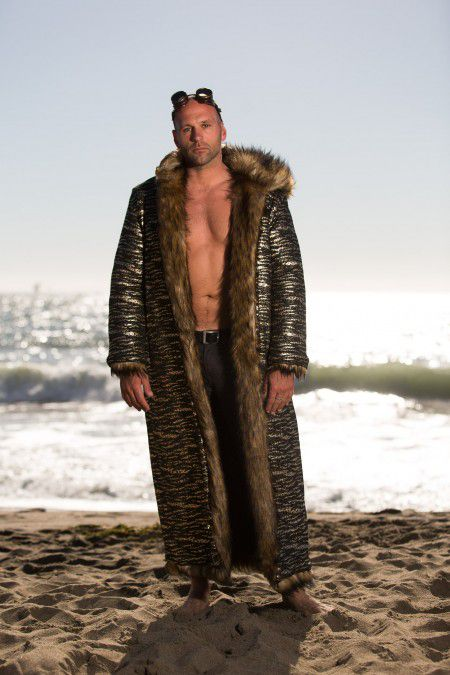 Bohocoats Burning Man Fur Coat