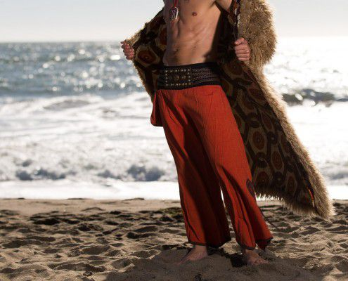 Boho Coats Burning Man Warrior Coat