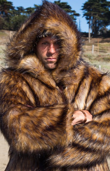 Big Bear Burning man Boho Coats
