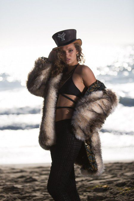 Gypsy Queen bohemian fur coat | Bohocoats
