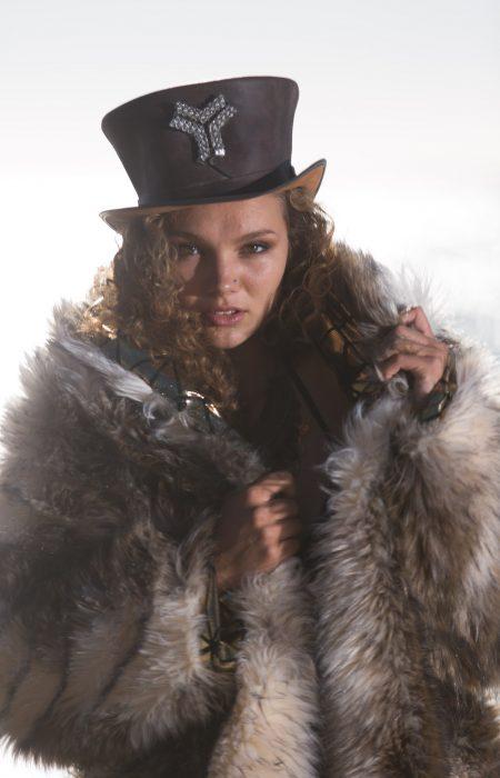 Gypsy queen bohemian fur coat