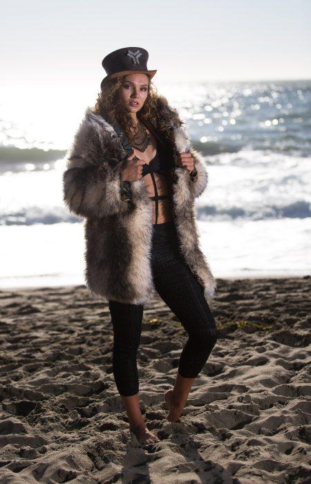 Gypsy Queen bohemian fur coat | Bohocoats