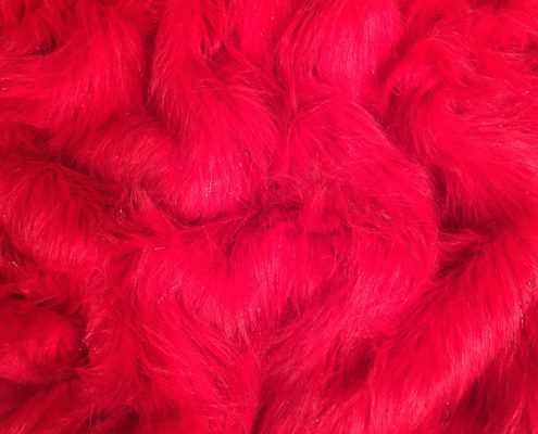 Electric Red Fur | Bohocoats