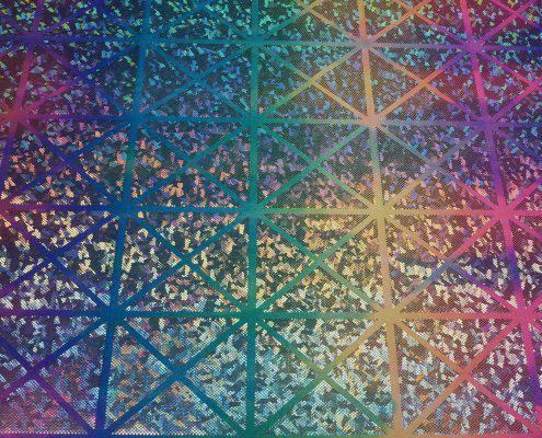 Rainbow Rombs spandex | Boho Coats