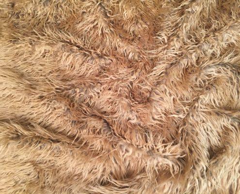 Warrior Fur Festival Coat