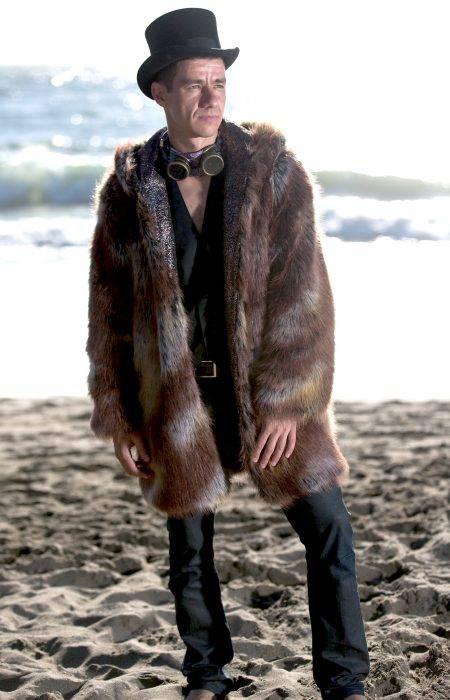 Desert Lion Festival Fur Coat | Bohocoats