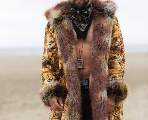 Lion Faux Fur Coat | Boho Coats