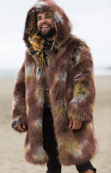 Lion Faux Fur Coat | Boho Coats