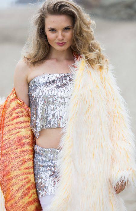 Fire Inside Festival Fur Coat | Bohocoats