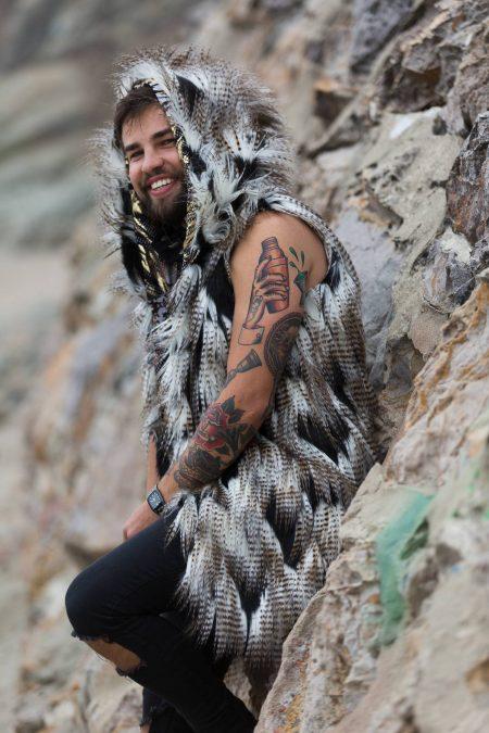 Falcon Festival Costume | Boho Coats