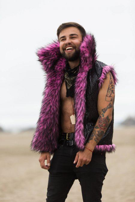 Pink Panther Festival Vest | Bohocoats