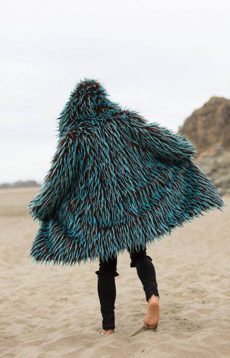 Gypsy Soul Burning Man Fur Coat