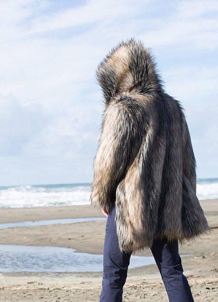 wild WOOLF in BOHO Coat