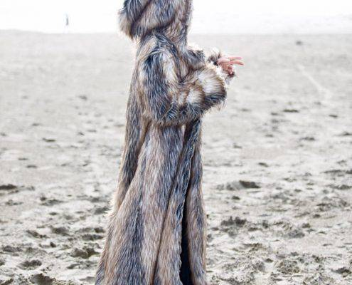 WIZARD Fur Coat | Burning Man | Playa Jacket | Mens Costume | Faux fur coat for men | Boho Coats