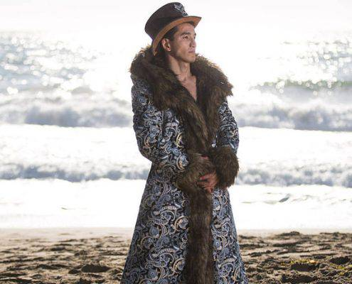 JON SNOW Fur Coat | Burning Man | Playa Jacket | Mens Costume | Faux fur coat for men | Boho Coats