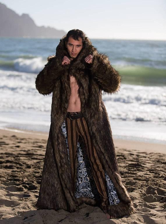 Jon Snow Fur Coat