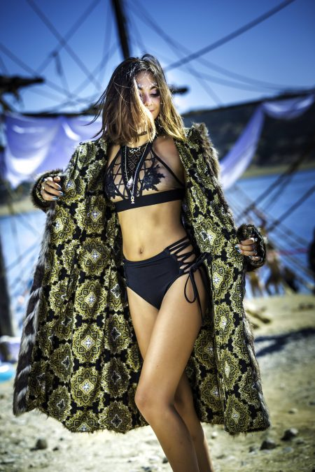 Black Diamond Burning Man outfit | Boho Coats