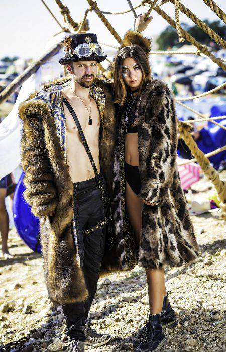 Black Diamond Burning Man outfit | Boho Coats