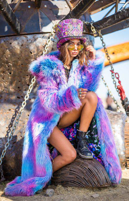 Fairy Purple Festival Outfit | Bohocoats
