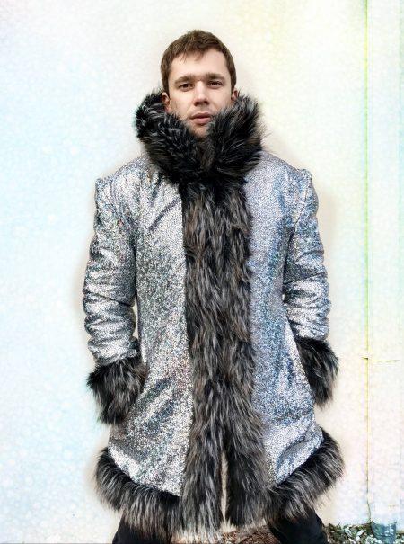 Zeus fur coat men | Boho Coats