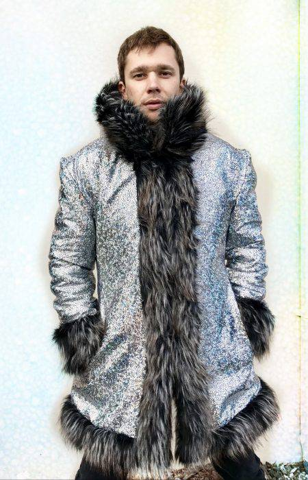 Zeus fur coat men | Boho Coats