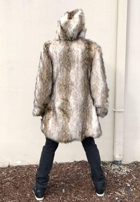 Leo Men's Fur Coat | Bohocoats