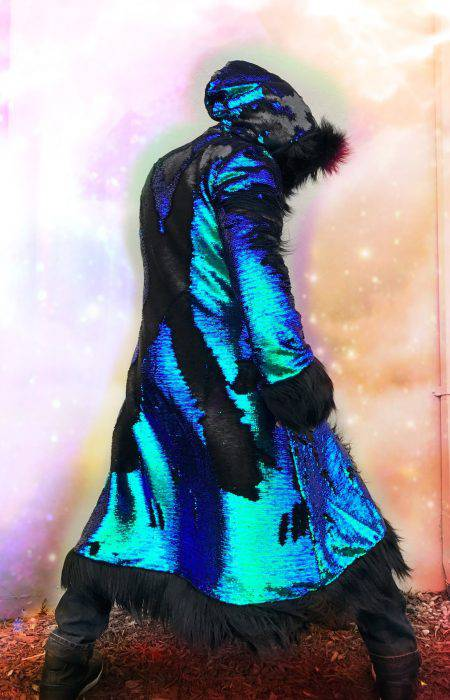 Master Dragon men fur coat