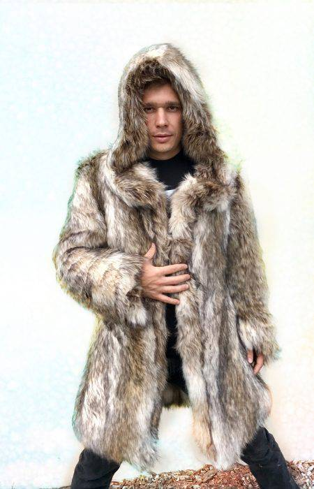 LEO Burning Man Fur Coat