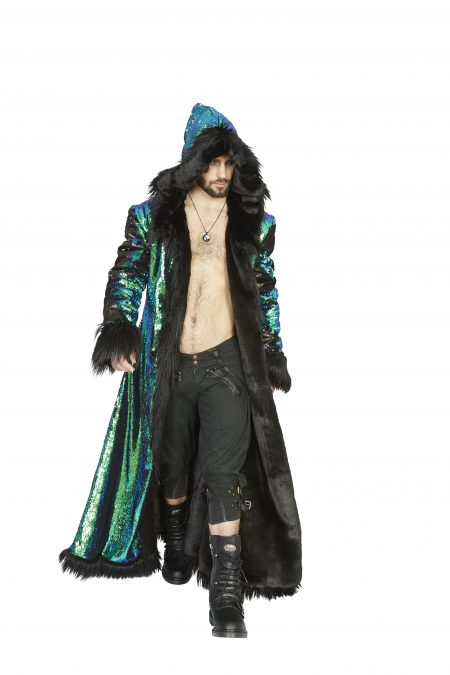 Master Dragon men festival fur coat