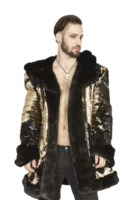 Golden Dragon men festival jacket