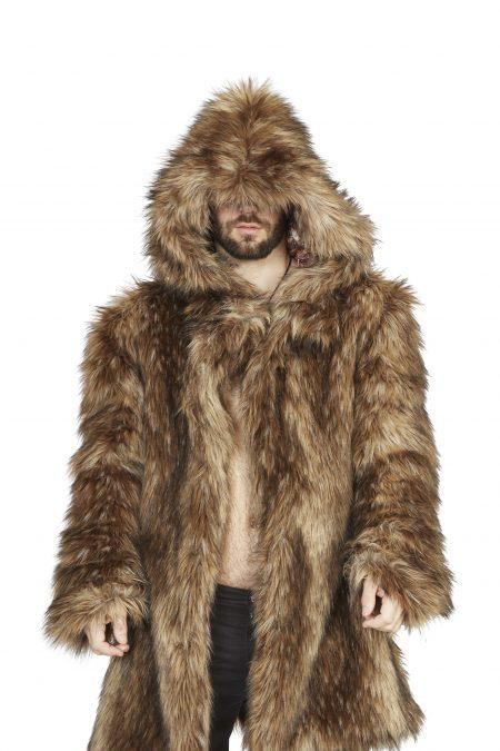 Viking Fur Jacket | Boho Coats