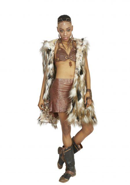 Dream of Falcon Burning Man vest