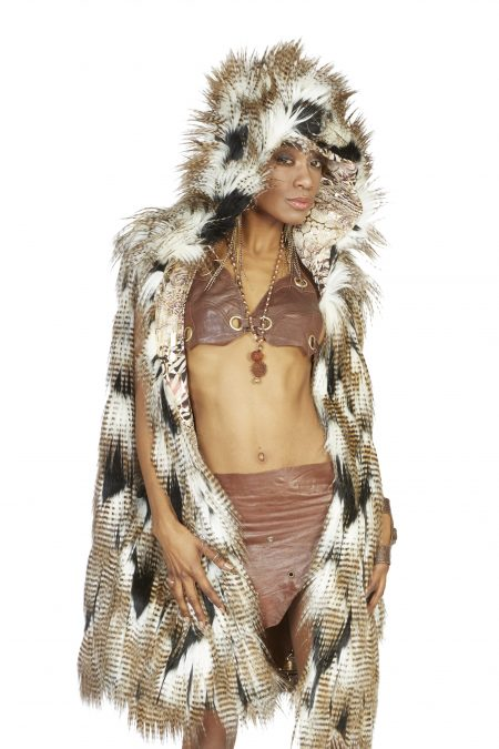Dream of Falcon Burning Man vest