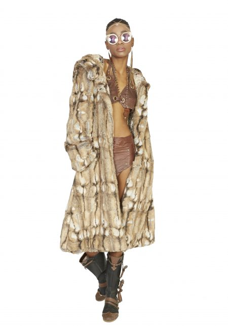 Inner Goddess exclusive fur coat