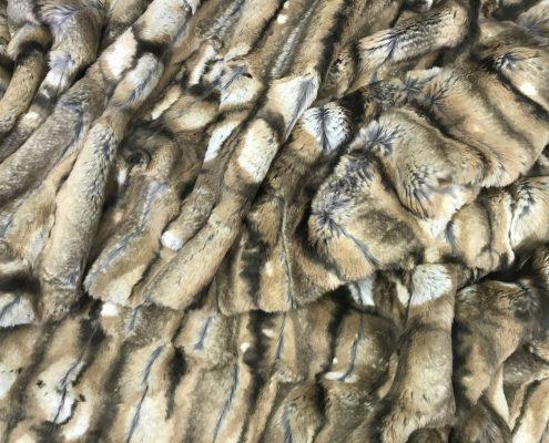 Wild Cat faux fur boho coat