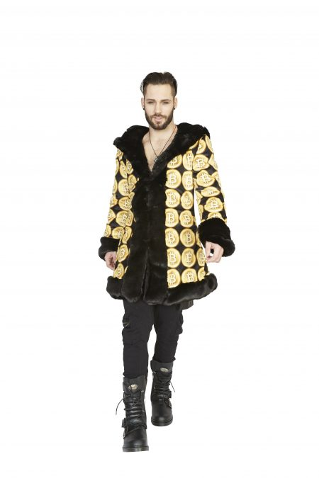 Crypto King Bitcoin Jacket