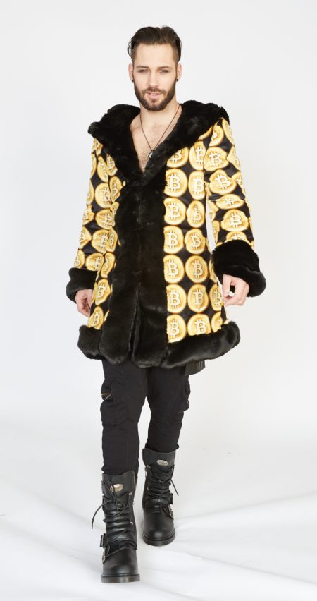 Crypto King Bitcoin Jacket | Bohocoats