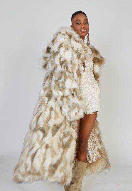 Playa Spirit faux fur coat