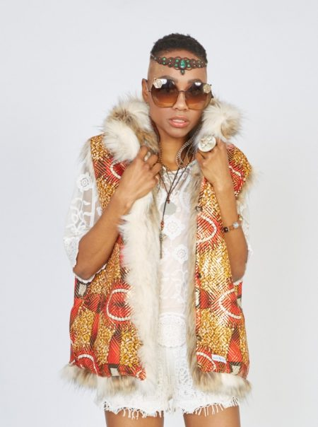 Amazon faux fur vest